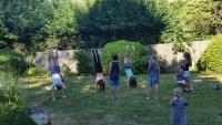 Fun in Vicarage Garden