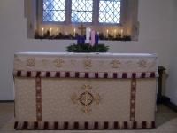 South Altar at Christmas